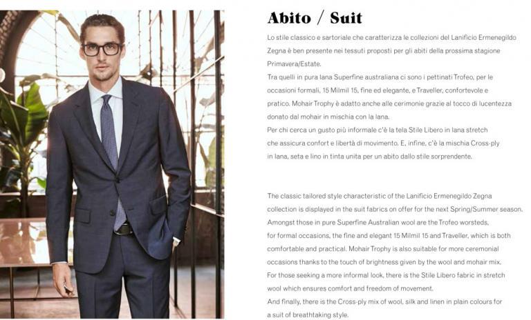 Abito / Suit