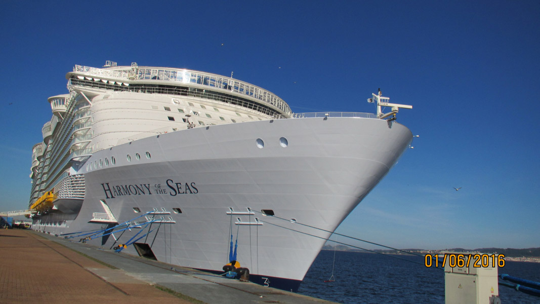 Royal caribbean l harmony of the seas croisiere inaugurale mai 2016
