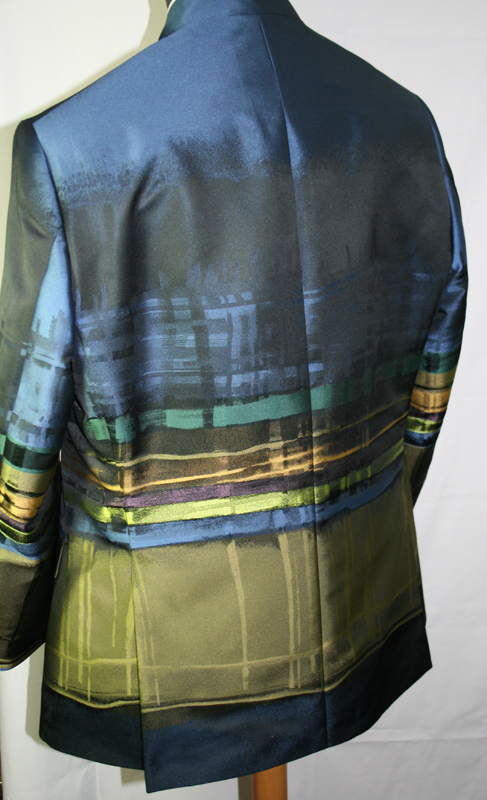 Fancy fabric jacket connection